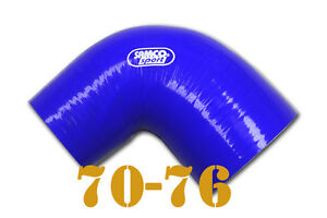 Silicone-Joiner-90-Degree-Bend-Reducer-Elbow-Hose-70mm-76mm-2-75-034-3-034-inch
