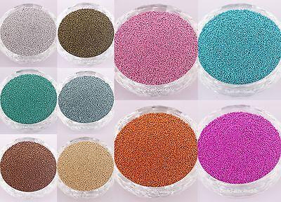 Lot 50g (Approx 50000Pcs)  Mini Beads Pearls Nail Art Tips Decoration Crafts DIY