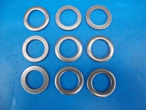 M12 20 Unterlegscheiben Zylinderschrauben DIN 433 ISO 7092 Edelstahl V2A M1,6