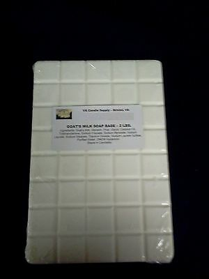 10 LBS GOATS MILK MELT AND POUR SOAP BASE  SOAP MAKING SUPPLIES