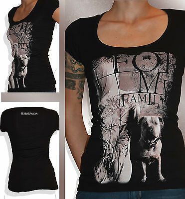Staffordshire Bullterrier Staffbull Department Girlie Shirt Staffy Tattoo