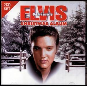 ELVIS-PRESLEY-amp-FRIENDS-2-CD-CHRISTMAS-ALBUM-NAT-KING-COLE-BING-CROSBY-NEW