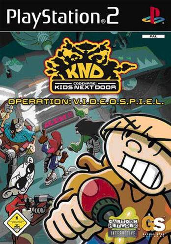 Sony Playstation PS2 - Spiel | Codename Kids next Door | inkl. OVP | neuwertig