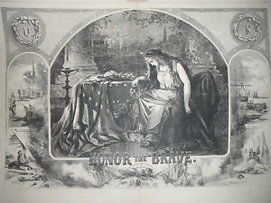1863-Harper-039-s-Weekly-October-24-Nast-034-Honor-the-Brave-034-during-the-Civil-War