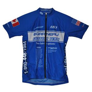 new-genuine-Louis-Garneau-Diamond-women-039-s-cycling-jersey-full-zip-made-in-USA