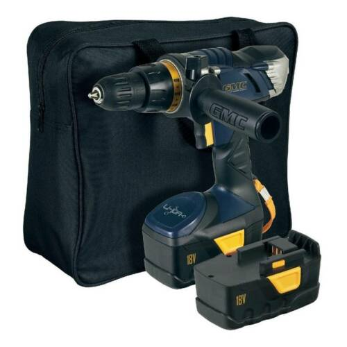 GMC System 18V Cordless Lithium Ion Drill  Driver  2 batteries  Melb