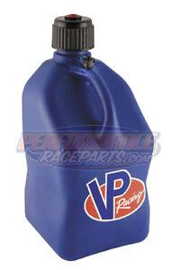 VP-Blue-5-Gallon-Square-Racing-Fuel-Jug-Racing-Fuel-Container-NHRA-IHRA
