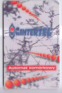 EUROPE-TELECARTE-PHONECARD-POLOGNE-10ZT-CENTERTEL-TEST-CHIP-PUCE