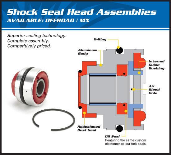 Rear Shock Seal Head Kit Re Build Suzuki RM250 1981 1982 1983 1984 1985 1986
