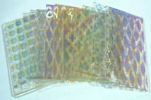 1-4-LB-Dichroic-Scrap-Clear-Thin-Pattern-Glass-Assortment-COE96Fusible-74546
