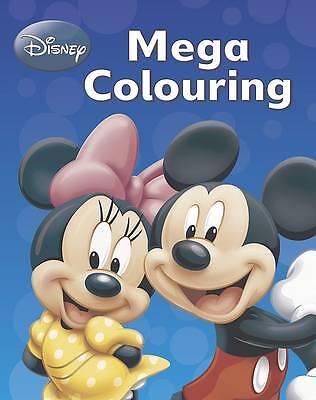 Disney Mickey Mouse & Co Mega Colouring Book, , New Book
