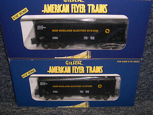 Pair-of-American-Flyer-New-England-Electric-Hoppers-1998-TCA-Convention-Cars