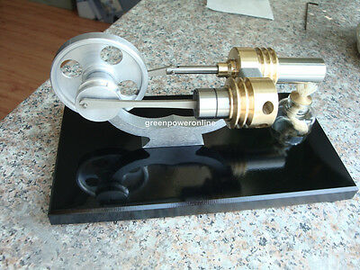 Hot Air Stirling Engine Motor Model Electricity Education Toy M12-02-D G