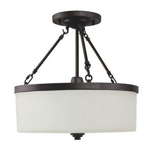 TAOS 16 Semi Flush mount Glass Ceiling Light Lighting Fixture