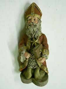 Sarah-039-s-Attic-034-Santa-Of-the-Month-034-Figurine-109-Very-Detailed-Grt-Condition