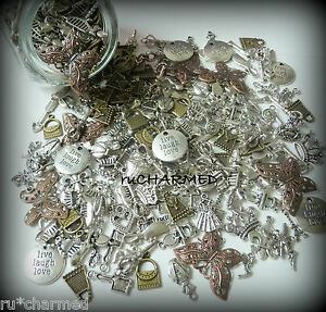 50pc-GirLy-METAL-Mixed-CHARM-LOT-Jewelry-Making-Scrapbooking-Craft-Parties