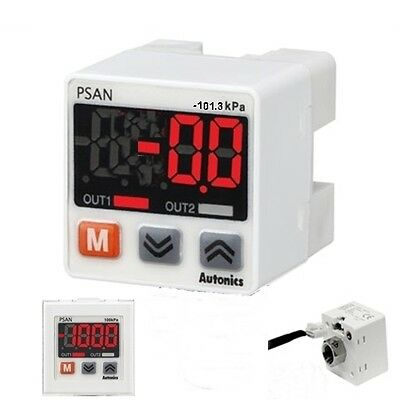 Air Negative Vacuum Pressure Sensor Switch PSAN-V01CV-Rc1/8 NPN open 100kPa