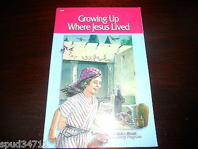 GROWING UP WHERE JESUS LIVED  homeschool ABeka Book Reading Program 2nd gr