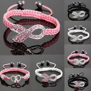 Shamballa-Crystal-Pink-Ribbon-Breast-Cancer-Awareness-Bracelet-Gift