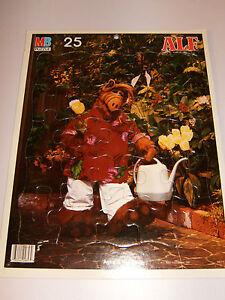 Vintage 1987 ALF Milton Bradley Frametray Puzzle in Mint Condition! Frame Tray