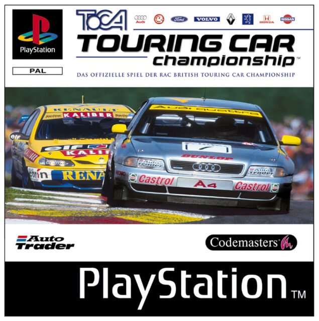 TOCA - Touring Car Championship (Sony PlayStation 1, 1997)