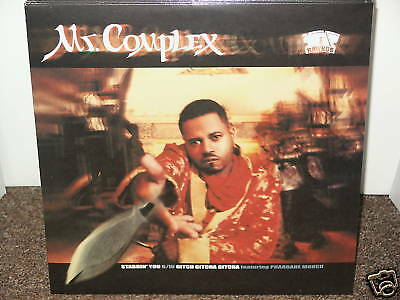 "Mr COMPLEX / STABBIN YOU 12"" OG US 1999 SEALED HIP HOP RAWKUS RECORDS GITCHA"
