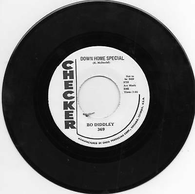 BO DIDDLEY - DOWN HOME SPECIAL / MUMBLIN' GUITAR - TWO KILLER BO BOPPERS - REPRO