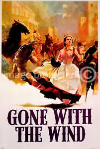 Gone With The Wind Vintage Movie Poster 2 -24x36 | eBay