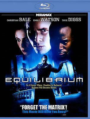 Equilibrium [Blu-ray], New DVD, Christian Bale, Sean Bean, Taye Diggs, Emily Wat