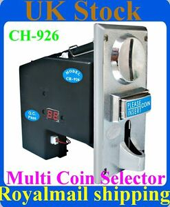 Multi-Coin-Acceptor-Selector-Mechanism-for-UK-coins-1-2-5p-10p-20p-50p