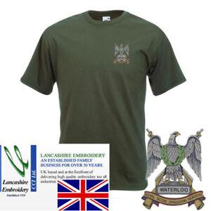 Royal-Scots-Dragoon-Guards-Olive-Green-T-Shirt-Medium