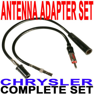 40-CR30 Chrysler Pair CR10+CR20 Antenna Adapters New
