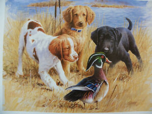 Gundog-Puppies-Print-Jim-Killen-Open-Edition