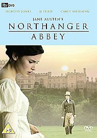 Northanger-Abbey-DVD-2007-DVD-New-FREE-amp-Fast-Delivery