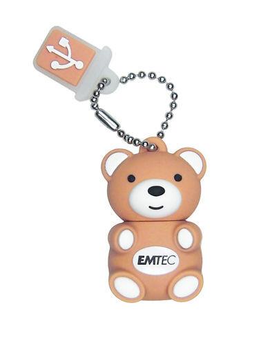 CLE USB 4 GO RAPIDE EMTEC OURSON / teddy bear 4 gb key
