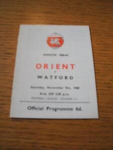 09111968 Leyton Orient v Watford   No obvious faults - Birmingham, United Kingdom - 09111968 Leyton Orient v Watford   No obvious faults - Birmingham, United Kingdom
