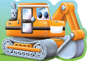 034-AS-NEW-034-N-A-CHUNKY-DIGGERS-EXCAVATOR-Chunky-Collection-Board-book-Book