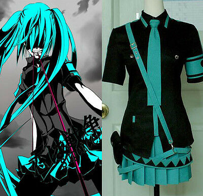 Vocaloid MIKU Love Is War Cosplay Costume Full Set