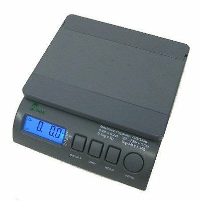 75 lb x 0.2 oz LCD Digital Postal Shipping Scale with AC Adapter Free Shipping