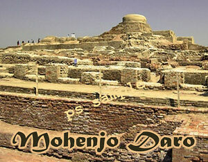 City Of Mohenjo Daro Map