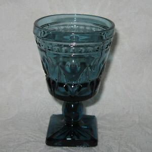 Colony-PARK-LANE-Blue-4-5-034-Wine-Glass-s