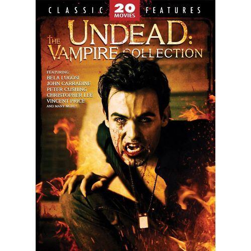 UNDEAD VAMPIRE 20 MOVIE DVD 4 DISC DRACULA ZOMBIE 30HR CHRISTOPHER LEE NOSFERATU