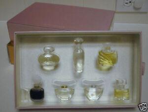 Estee Lauder 8 Pc Pure Perfume Gift Set Dazzling Silver
