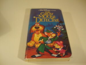 The-Great-Mouse-Detective-VHS-Classic-Movie-Film-Disney