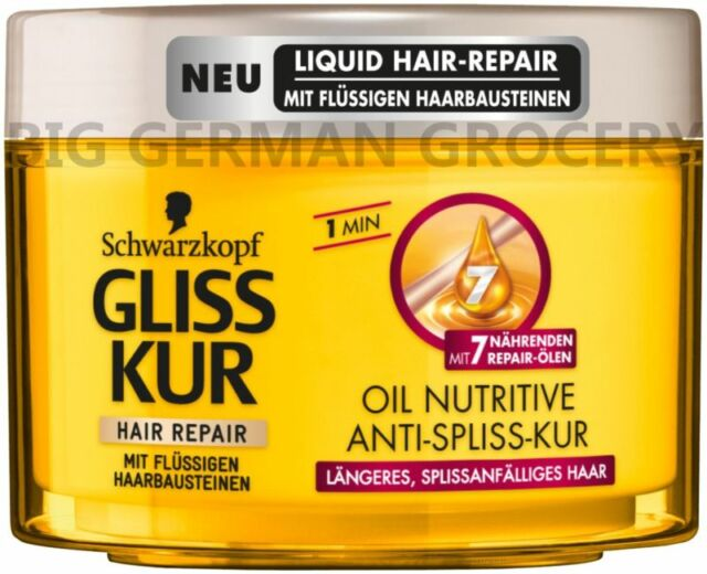 GLISS KUR - Oil Nutritive - Repair Butter Kur