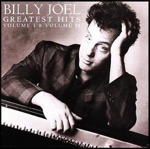 BILLY-JOEL-2-CD-GREATEST-HITS-Volume-I-II-70s-80s-PIANO-MAN-NEW