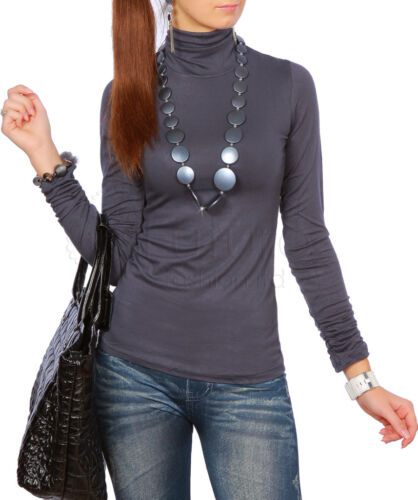 "Nice Turtleneck with Shirring /""Natascha/"" 4020 New Collection"