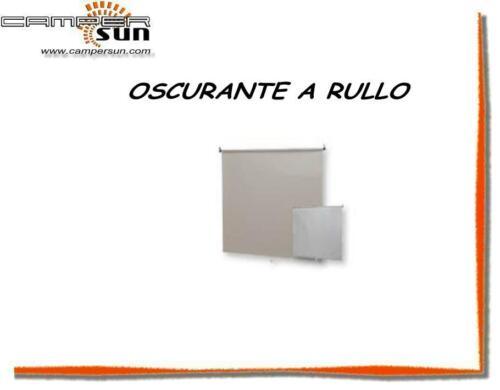 Z16921 OSCURANTE A RULLO PER CAMPER O ROULOTTE GRIGIO CHIARO 160X65 CM CAS