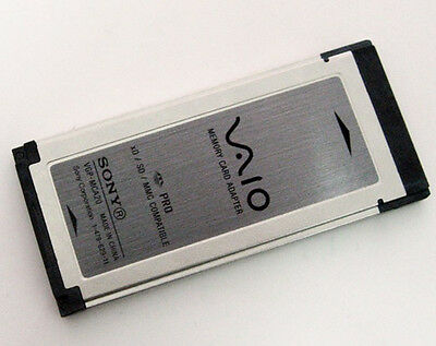 Sony VAIO 34MM ExpressCard Adapter for SDHC/XD/MMC Card for Notebooks,VGP-MCA20