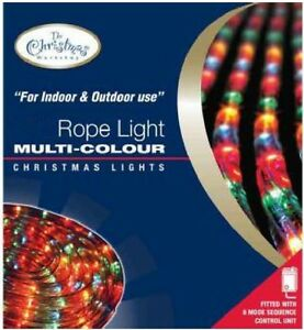 Xmas-Multi-Colour-ROPE-Chaser-Light-Christmas-Party-Decoration-Indoor-amp-Outdoor